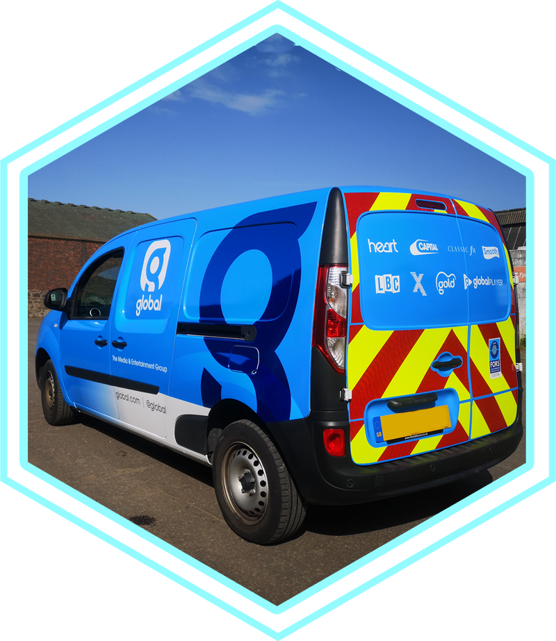 DS Graphics Scotland - Vehicle Branding